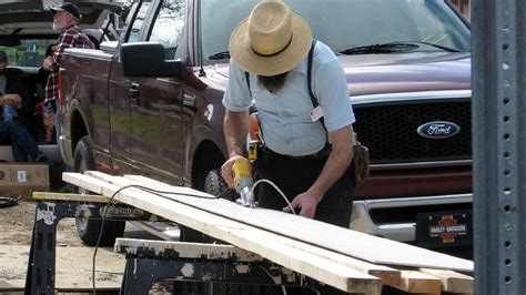 amish woodworking tools how amish get around using electricity for power tools