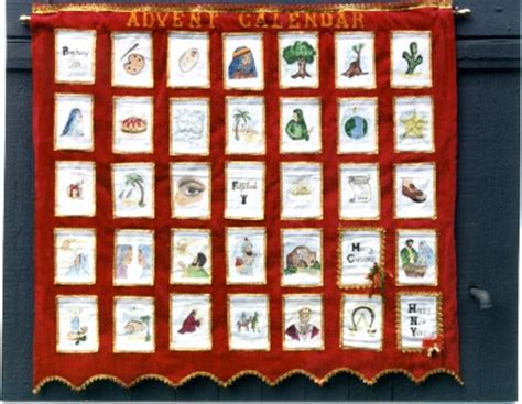 Patchwork Advent Calendar Pattern - pattern for quilted advent calendar my quilt pattern