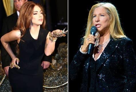 barbra streisand and lady gaga barbra streisand wants to remake gypsy with lady gaga
