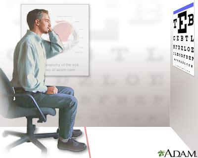 imagenes test visual examen de la agudeza visual medlineplus enciclopedia