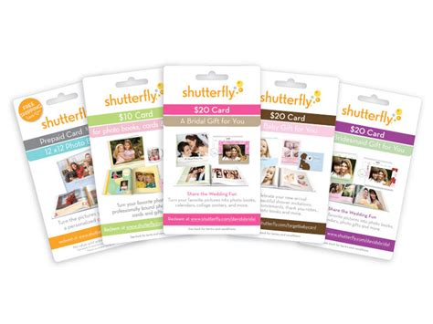 Shutterfly Gift Cards In Stores - shutterfly prepaid gift cards kencreative