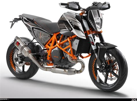Ktm 690 Duke Powerparts Ktm Duke 690 2012 With Lots Of Powerparts Wallpaper