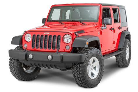 Jeep Trims Putco 400523 Blk Grille Trim Cover In Black For 07 17