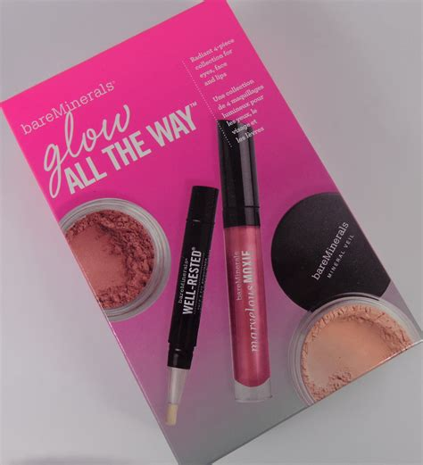 Bare Minerals Makeup Lift And Glow Set With Pouch Original bareminerals glow all the way for 2013 my highest self