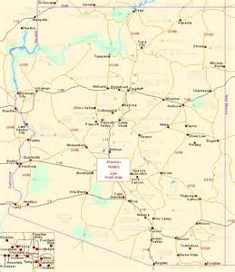 map of arizona cities and towns arizona towns pictures to pin on pinsdaddy
