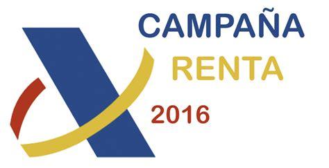Periodo Para Hacer Renta 2016 | el 5 de abril comienza la ca 241 a de renta 2016 cuya