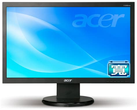 Monitor Lcd Acer V193hqv acer v193hq 18 5 inch lcd monitor price in ram technology egprices