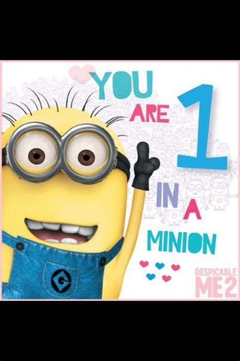 minion valentines day card card for minions those minions