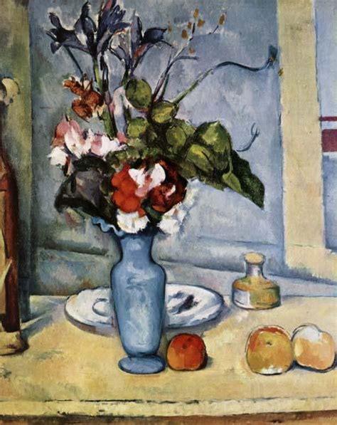 Cezanne The Blue Vase by Den Bl 229 Vas Paul Cezanne Oljem 229 Lningar Ramar Spegel 27901