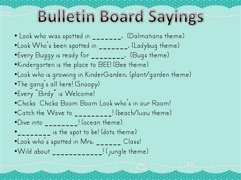 church bulletin board sayings