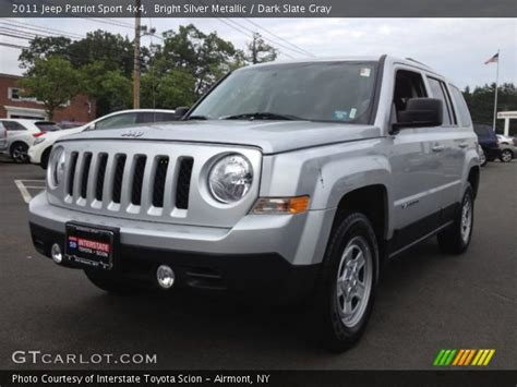 silver jeep patriot interior bright silver metallic 2011 jeep patriot sport 4x4