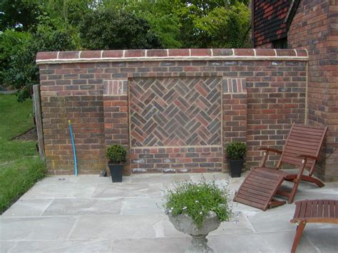 outside brick wall designs brickwork subcontractors young and wright brickwork