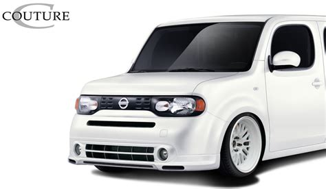 nissan cube bodykit 09 14 fits nissan cube vortex overstock front bumper lip