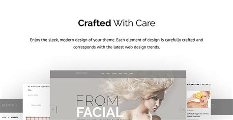 Barbers Cosmetologists Hairdressers Hairstylists Skin Care Specialists by Bloomie Skin Care Services Salon Responsive