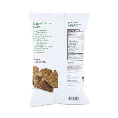 Organic Vegetable Chips organic vegetable chips greens by forager thrive market