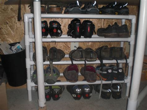 shoe rack pvc pipe furniture impressive pvc shoe rack diy ideas and trend luxury busla home decorating ideas and