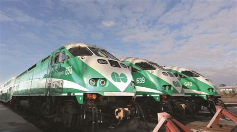 Kitchener To Mississauga Go by Go Transit Capacity Through Brton To Kitchener Will