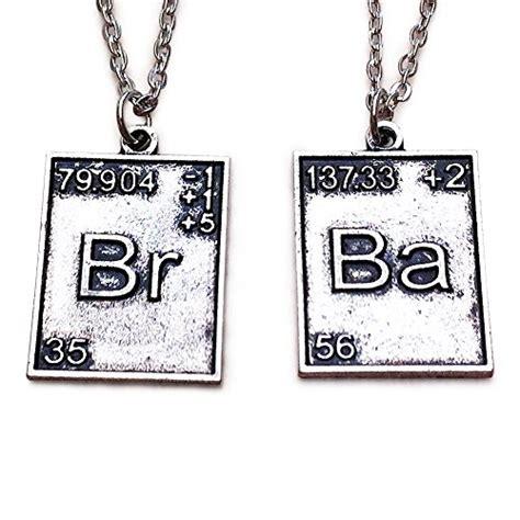 argento tavola periodica breaking bad 2 x tavola periodica pendente di tono