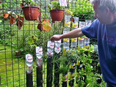Recycled Vertical Garden Build A Vertical Garden With Recycled Plastic Bottles