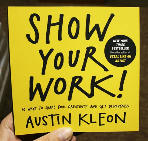 show your work 10 ways to share your creativity and get microcosm publishing