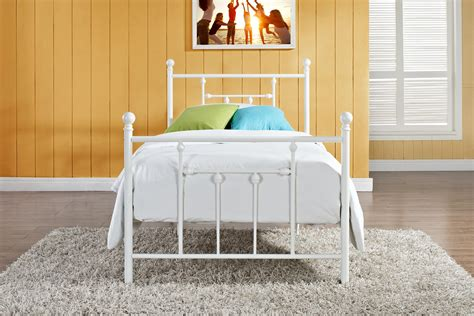 kids twin bed frame kids metal twin bed frame rs floral design metal twin