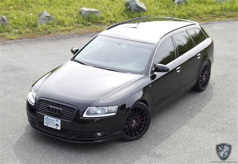 audi wagon black connoisseur exterior detail with interior detail plus on