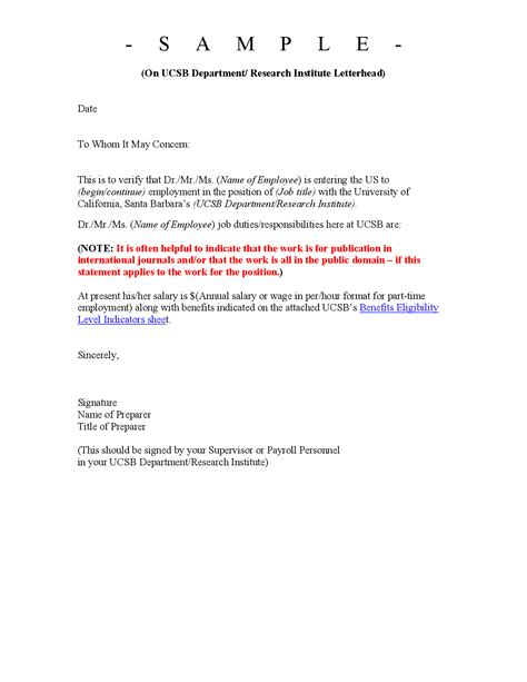 Proof Of Current Employment Letter For Visa Best Photos Of Proof Of Employment Letter Proof Of Employment Letter Sle Sle