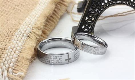 Bible Verses Engraved Wedding Band by Discover And Save Creative Ideas