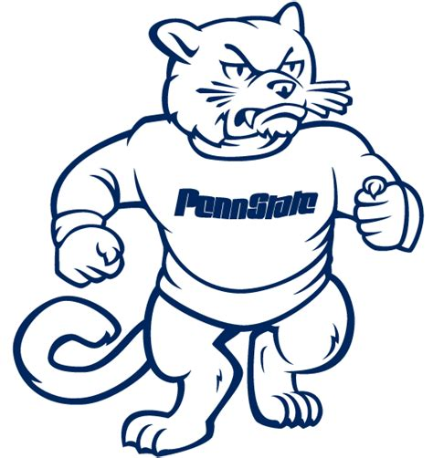nittany lion coloring pages penn state coloring pages