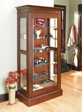 woodsmith curio cabinet plans display cabinet woodsmith plans