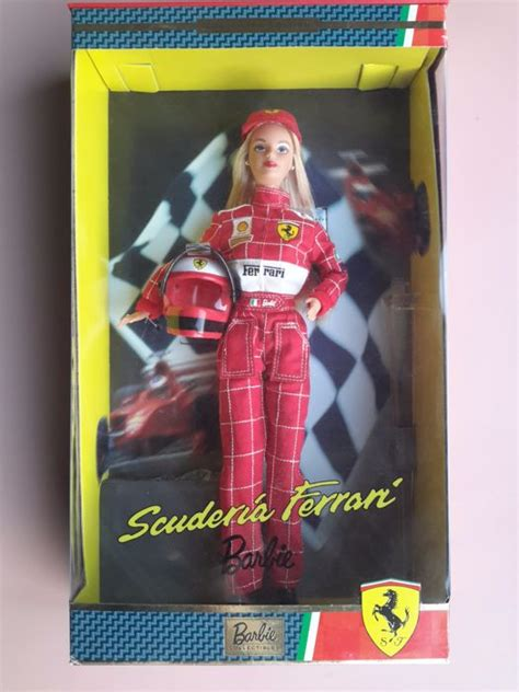 barbie ferrari scuderia ferrari barbie pop mattel