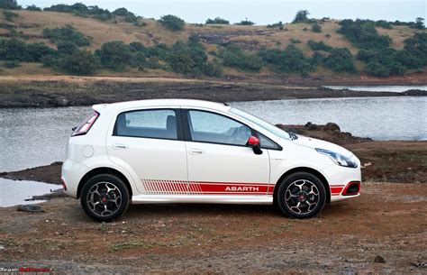 fiat punto abath fiat abarth punto official review team bhp
