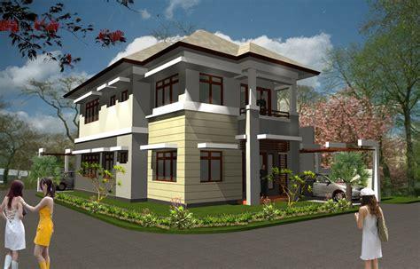 aneka gambar desain rumah minimalis 2 lantai berbagai type yang modern desain rumah perumahan