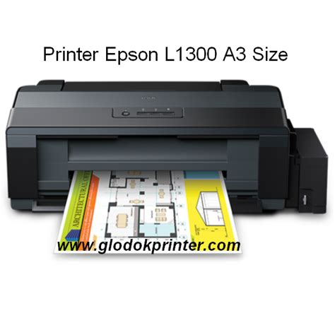 Printer A3 Infus Harga Printer Epson L1300 A3 Infus Original Murah Di