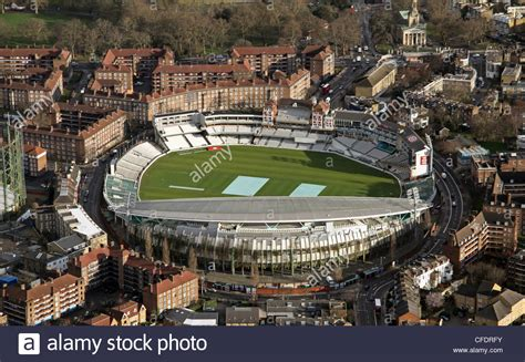 Kia Oval Aerial Image Of The Kia Oval Cricket Ground In South