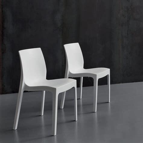 la seggiola sedie sedia la seggiola falena velvet plastica design impilabile