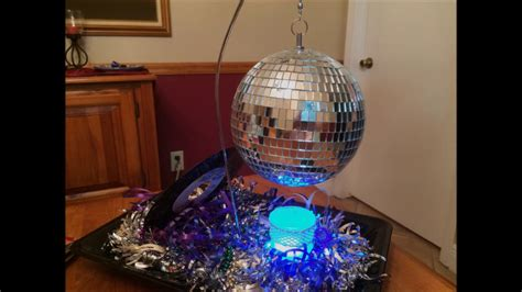 disco centerpiece diy