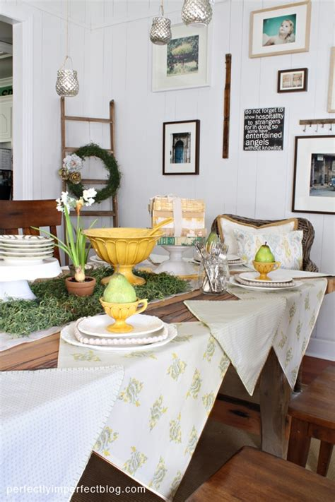 dining table holiday decor 1homedesigns com dining table decoration ideas spring decorations room
