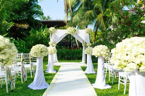 Backyard Wedding Venues by Triyae Backyard Wedding Venues Various Design