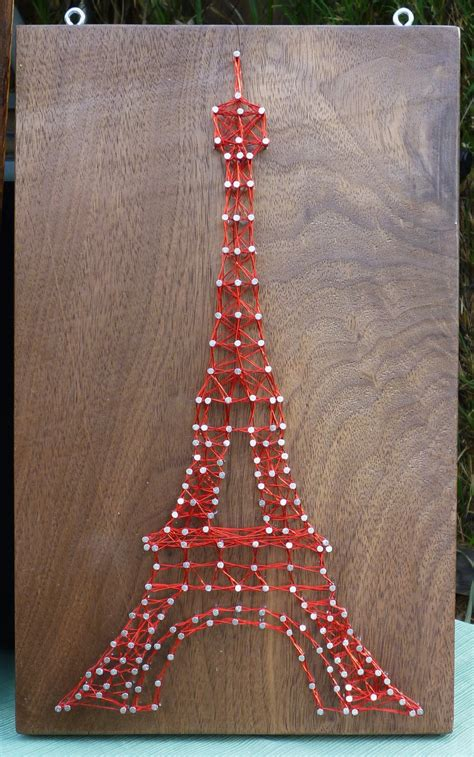 String Etsy - eiffel tower string by designwheel on etsy