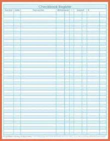 printable check register full page bio example