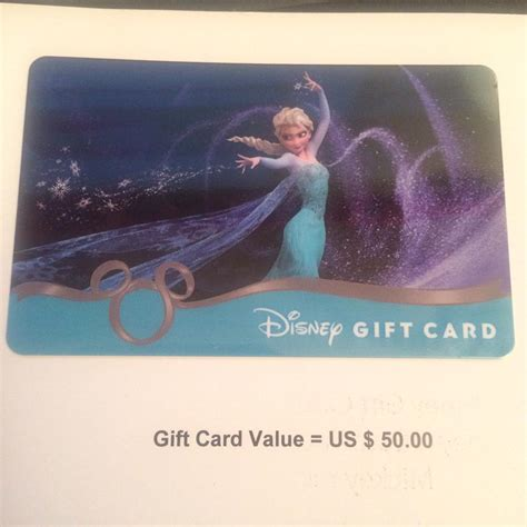 Downtown Disney Gift Card - 50 disney gift card giveaway