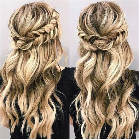 beautiful hairstyles pinterest beautiful hair and 11 more beautiful hairstyle ideas for prom night 3 half