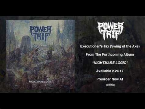 swing that gospel axe power trip premiere new song executioner s tax swing of