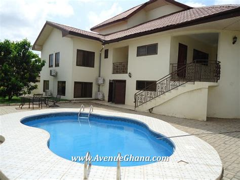 6 bedroom house with pool 6 bedroom house with swimming pool for rent in east legon