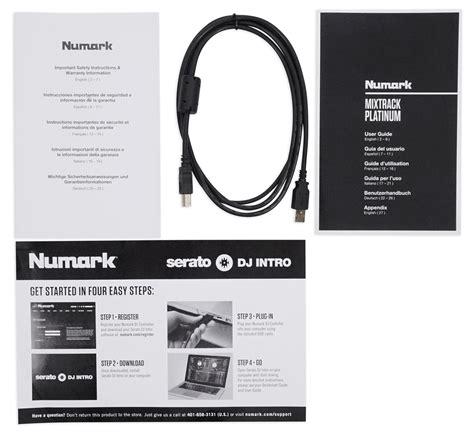 Numark Mixtrack 4 Channel Dj Controller numark mixtrack platinum 4 channel dj controller with 4