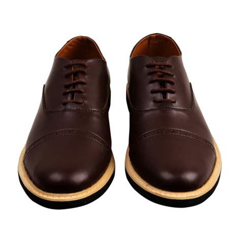 Boots Oxford Kulit Brown sepatu formal oxford fstp brown moi