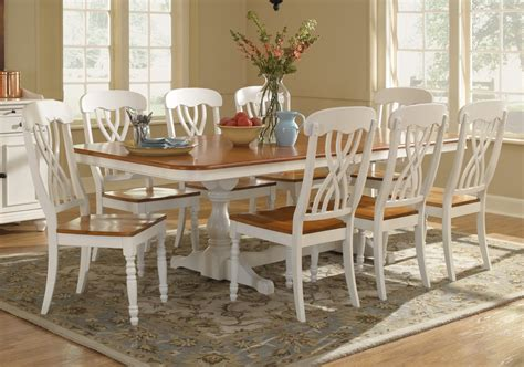 Dining Room Furniture Pieces Furniture Alston Dining Table Four Upholstered Room 9 Picture