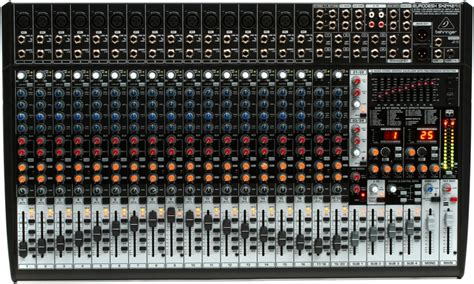 Mixer Eurodesk Sx2442fx behringer eurodesk sx2442fx mixer with effects sweetwater