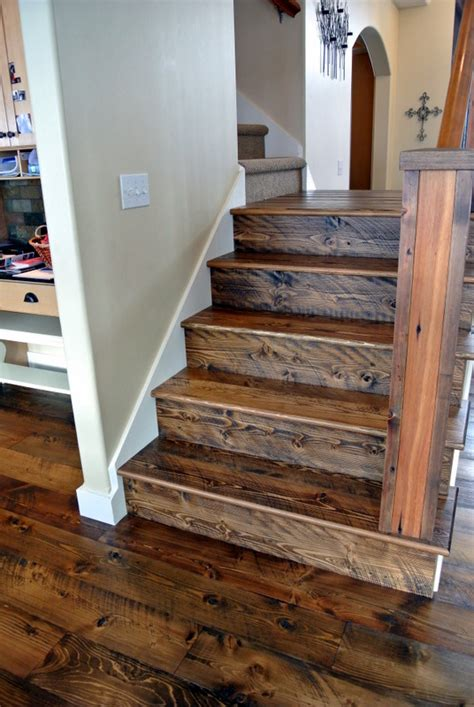 remove outdoor l post sawn doug fir stair parts sustainable lumber company